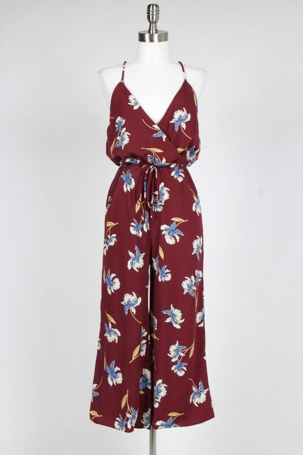 Wine Me Down Jumpsuit
