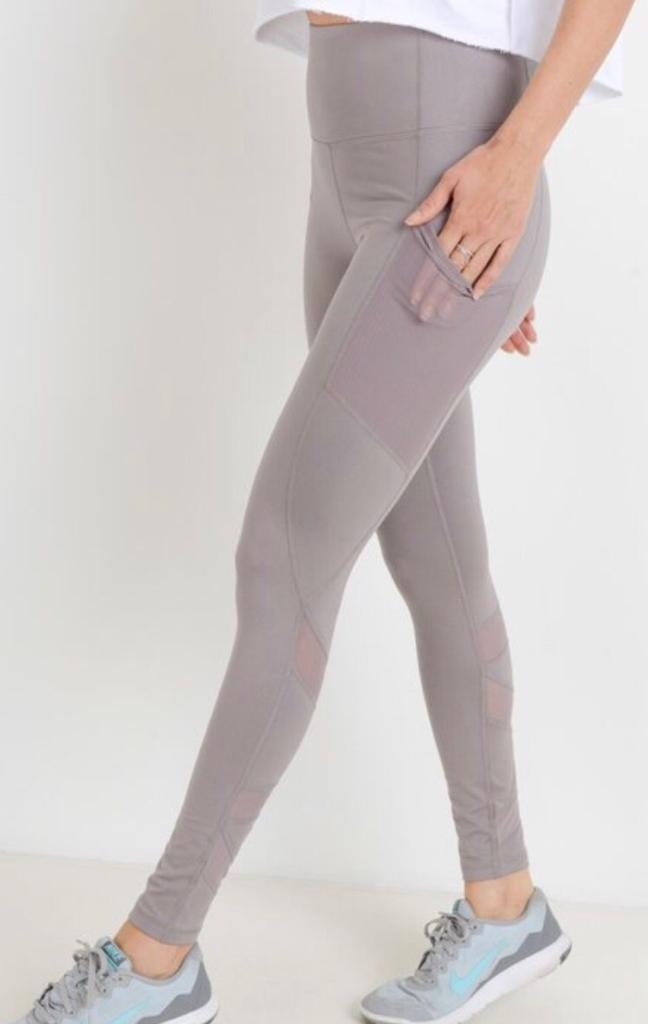 B3 On the Rise zigzag Legging - Lavender