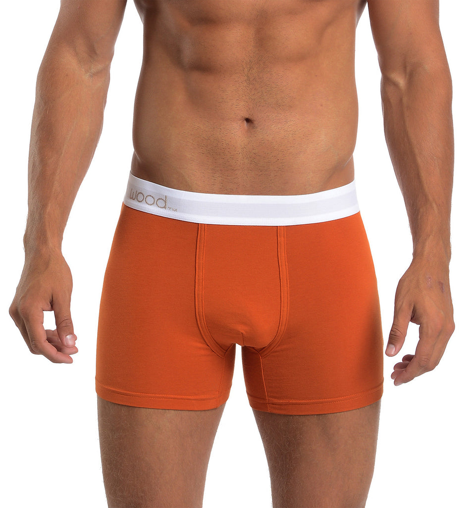 Boxer Brief - Wood Orange