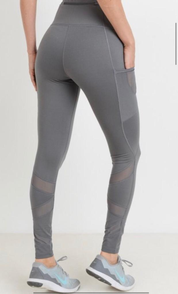 B3 On the Rise zigzag Legging - Lava