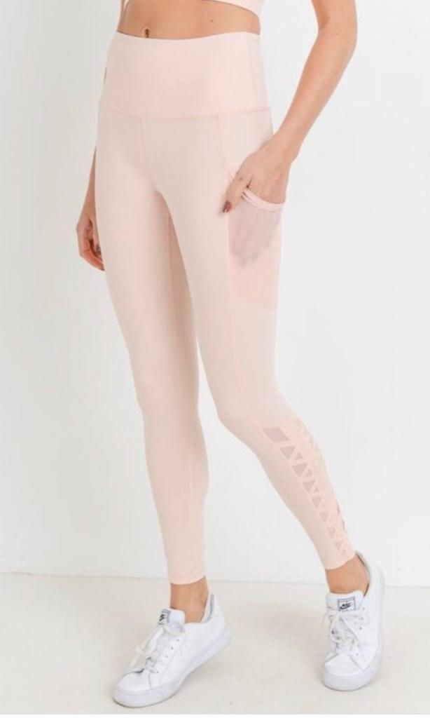 B3 On the Rise Legging - Lemonade