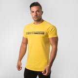 Barcode Performance Tee- Yellow