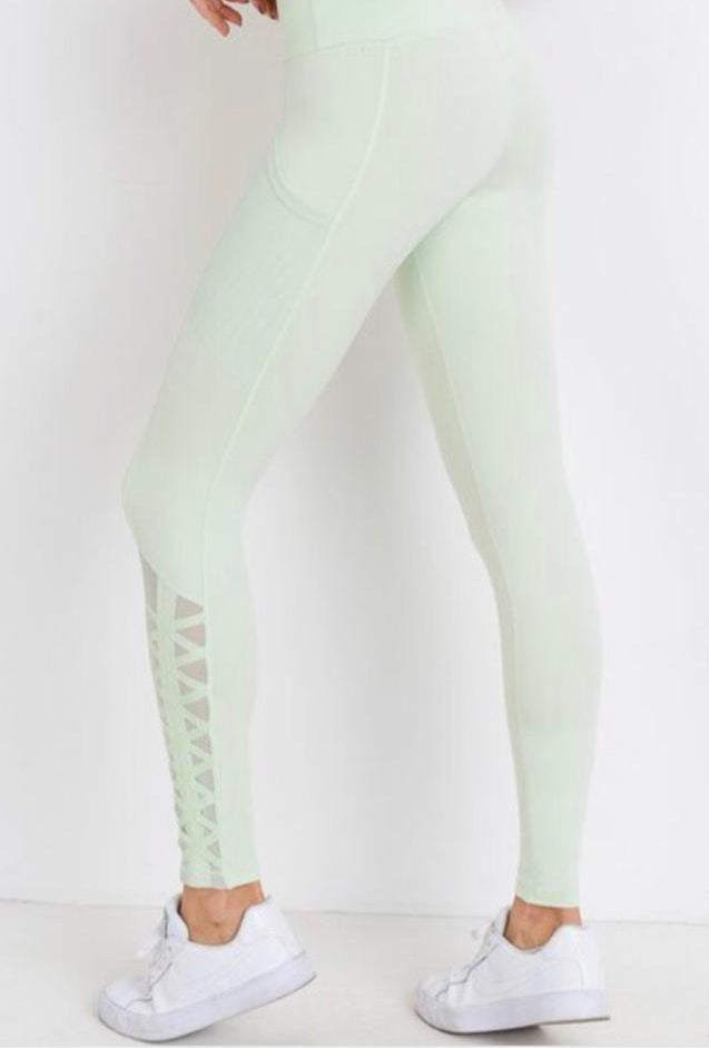 B3 On the Rise Legging - Seaform