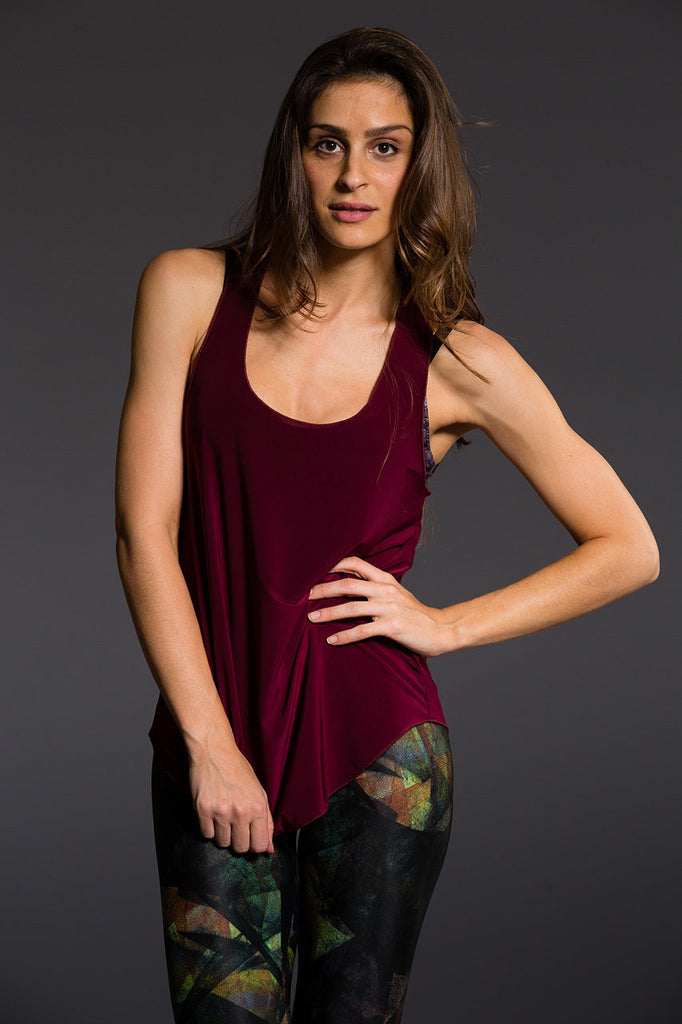 Glossy Flow Tank- Multi Colour