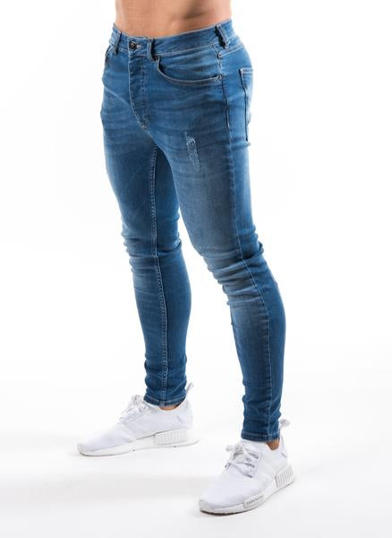 GK Denim Jeans Distressed