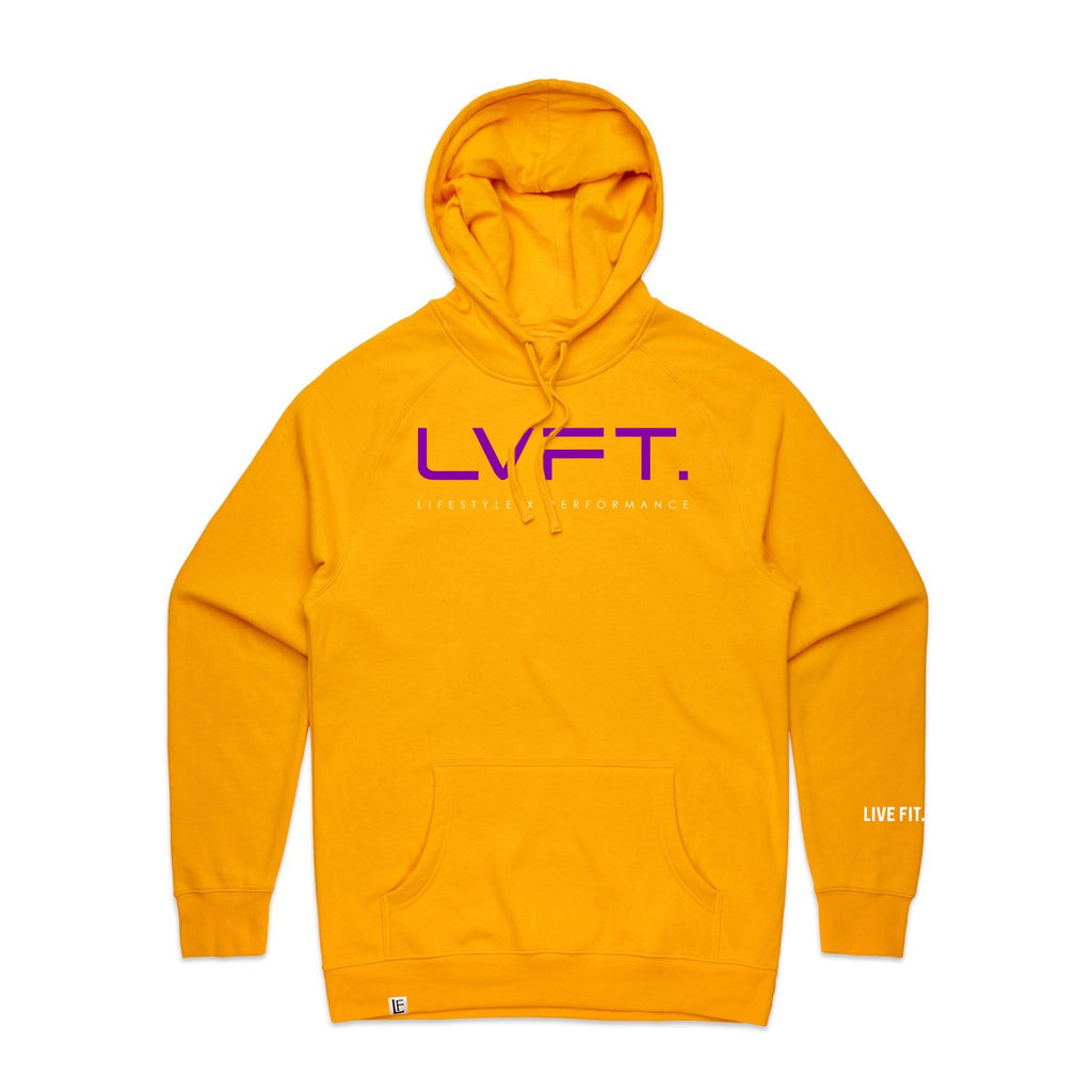 Lifestyle Hoodie - Gold / Purple