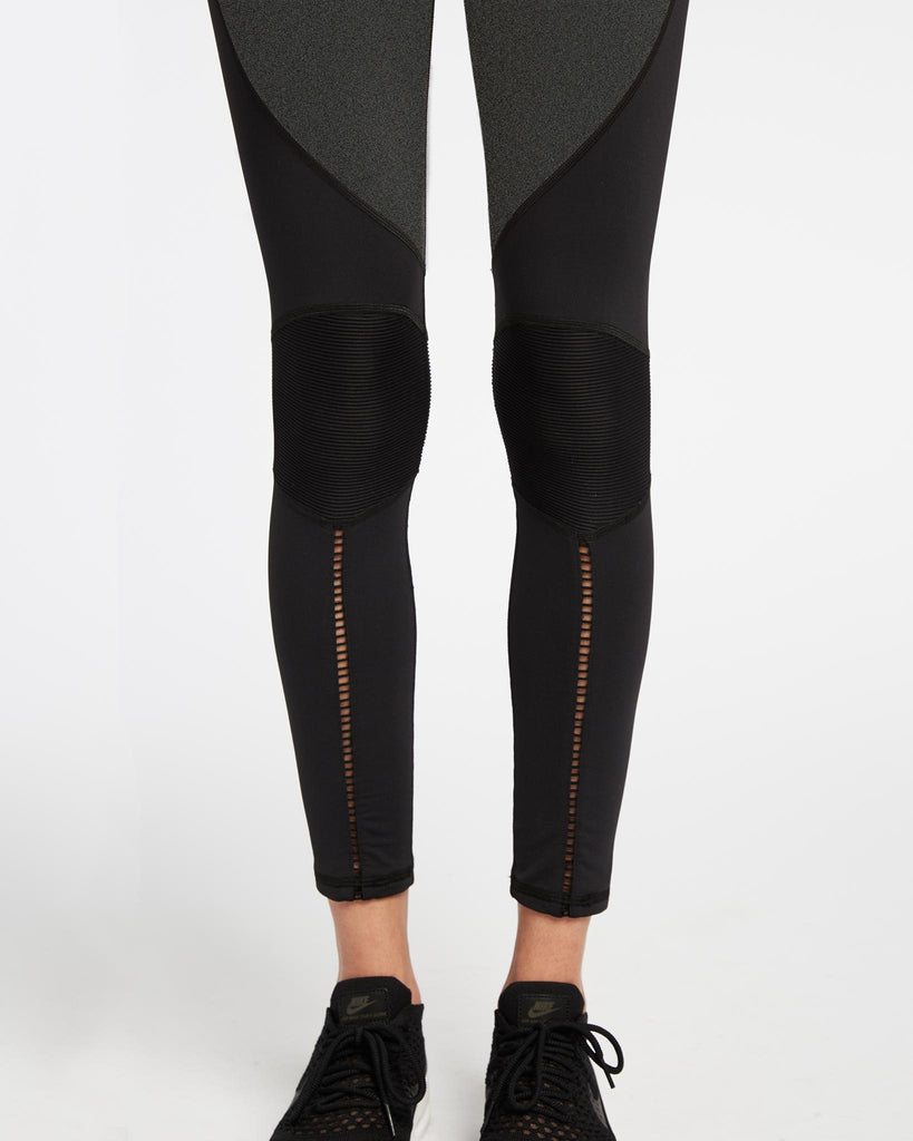 Shift Legging - Grey/ Black