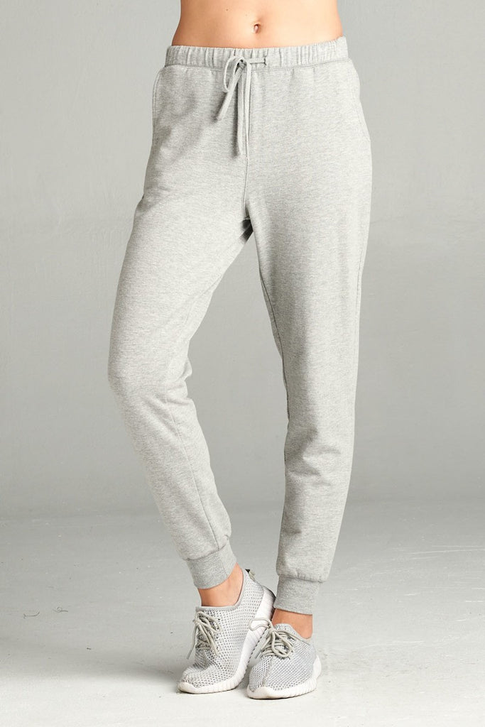 B3 Ladies French Terry Jogger- Grey