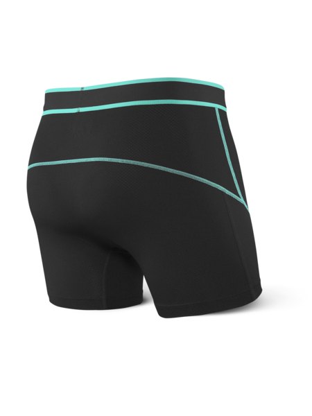 Kinetic Boxer Brief- Black/Tide