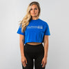 Crop Top - Royal Blue
