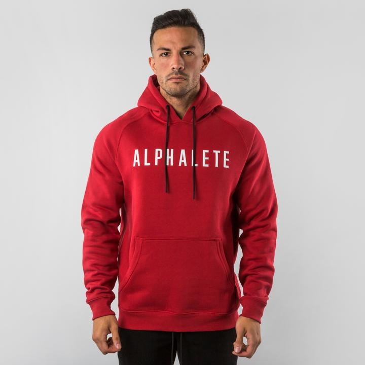 Fitted Hoodie - Red