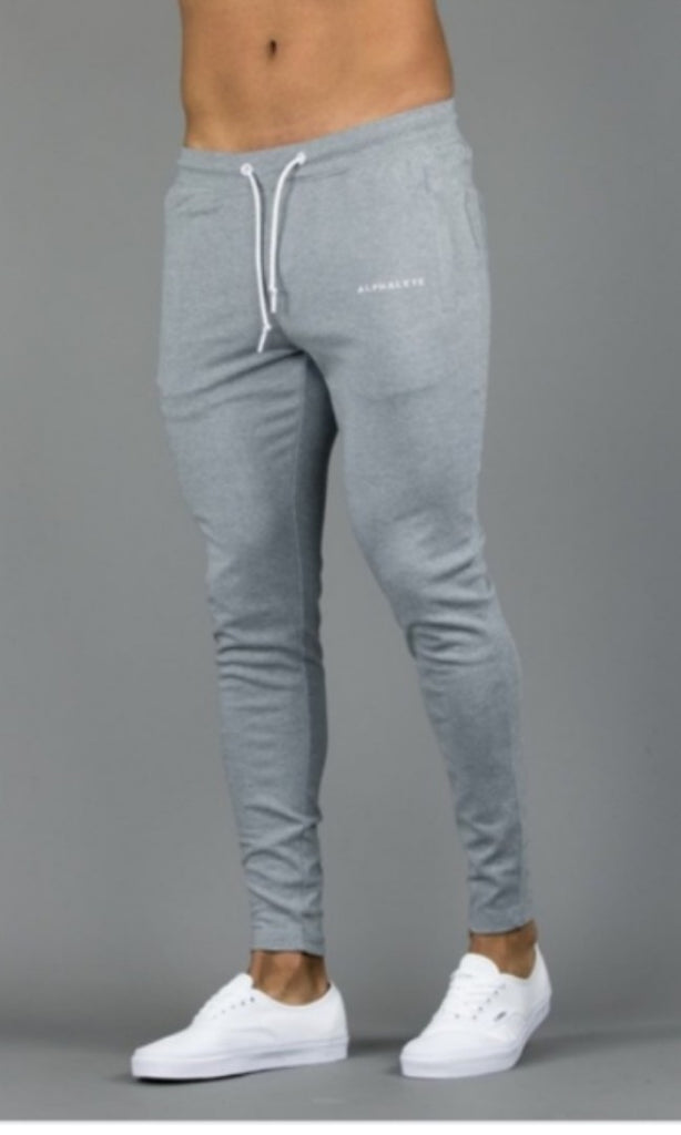 Alphalete Men's Joggers- Grey