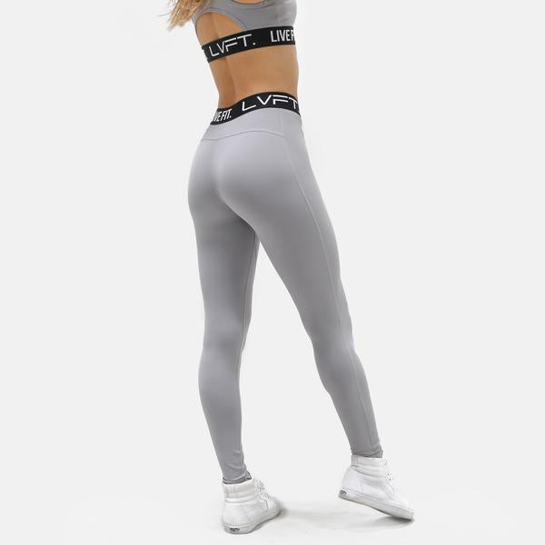 Retro Boom Leggings- Cement
