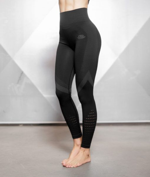 FREYA Seamless Legging High Waist – BLACK
