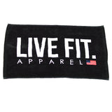 Live Fit. Gym Towels
