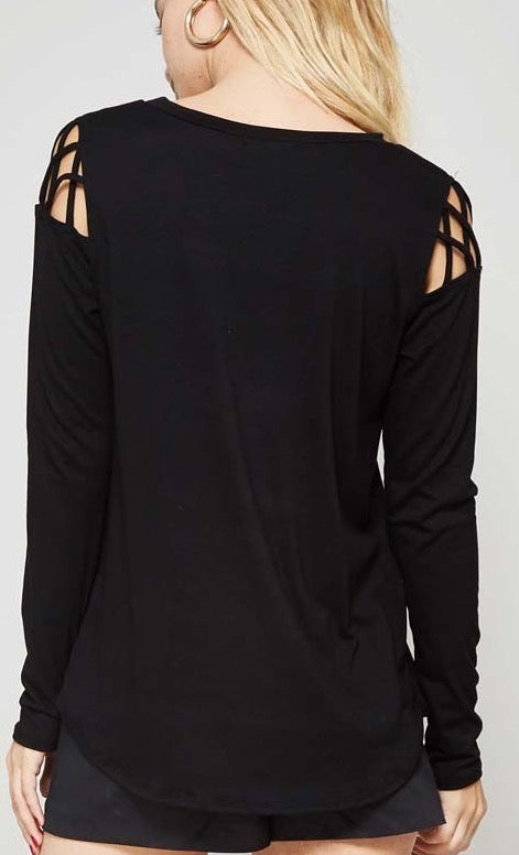 Braid Long Sleeves - Black