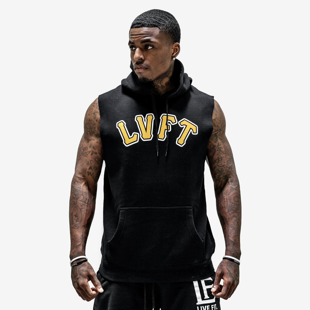 Varsity Cut off - Black / Gold