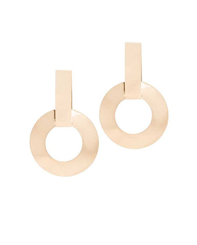 Lucky Earrings-bronze