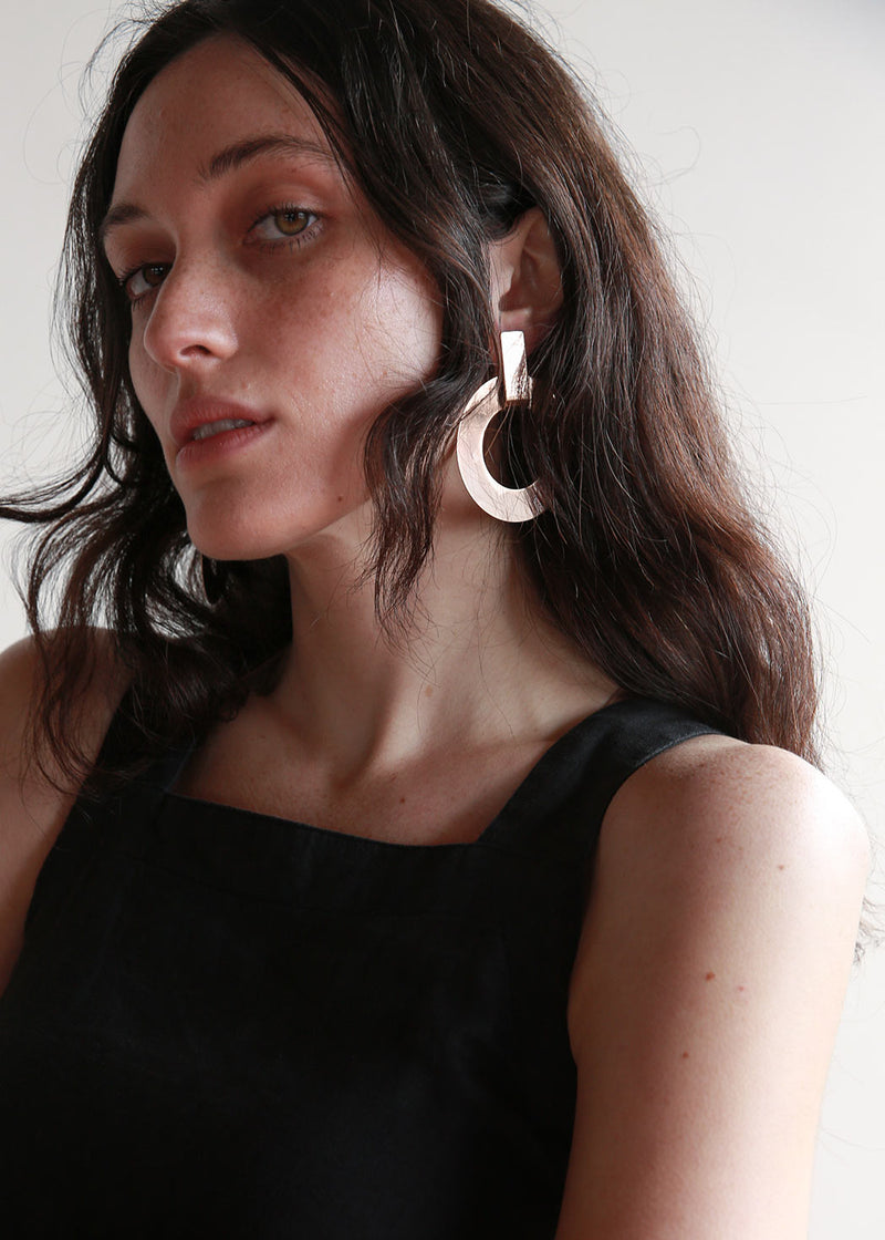 Open Circle Modular Earrings