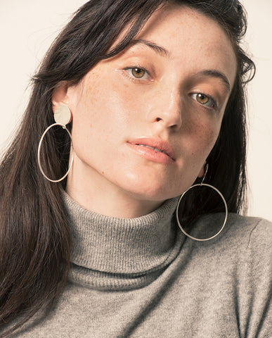 Essential Hoop Earrings-Essential Hoop Earrings