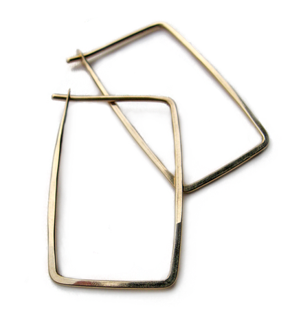Small Rectangle hoops-Small Rectangle hoops