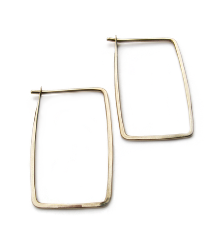 Small Rectangle hoops