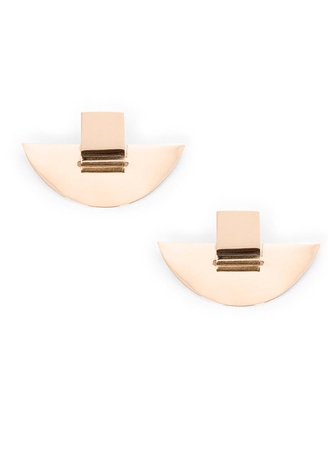 Suspended Slice Modular Earrings
