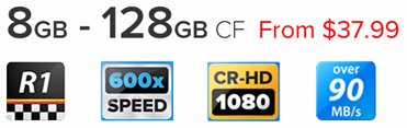 CompactFlash Card Reference One