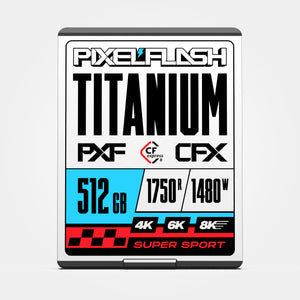 512GB CFX Titanium CFexpress Card Type B