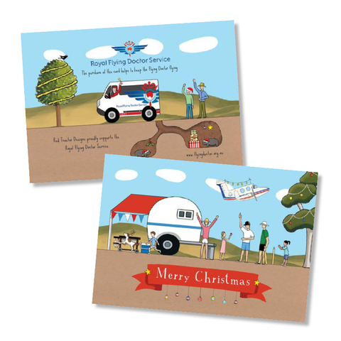 Flying Doctor Christmas Card