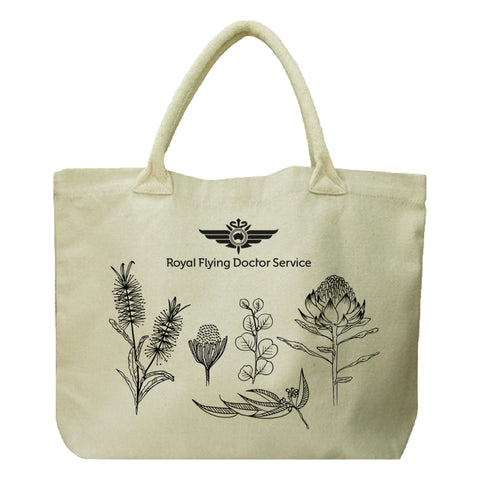 Native Flower Tote Bag