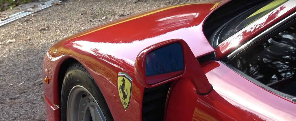 Ferrari F40 - The legend of the thin paint