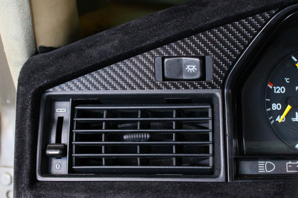 Small vent - Carbon fiber trim