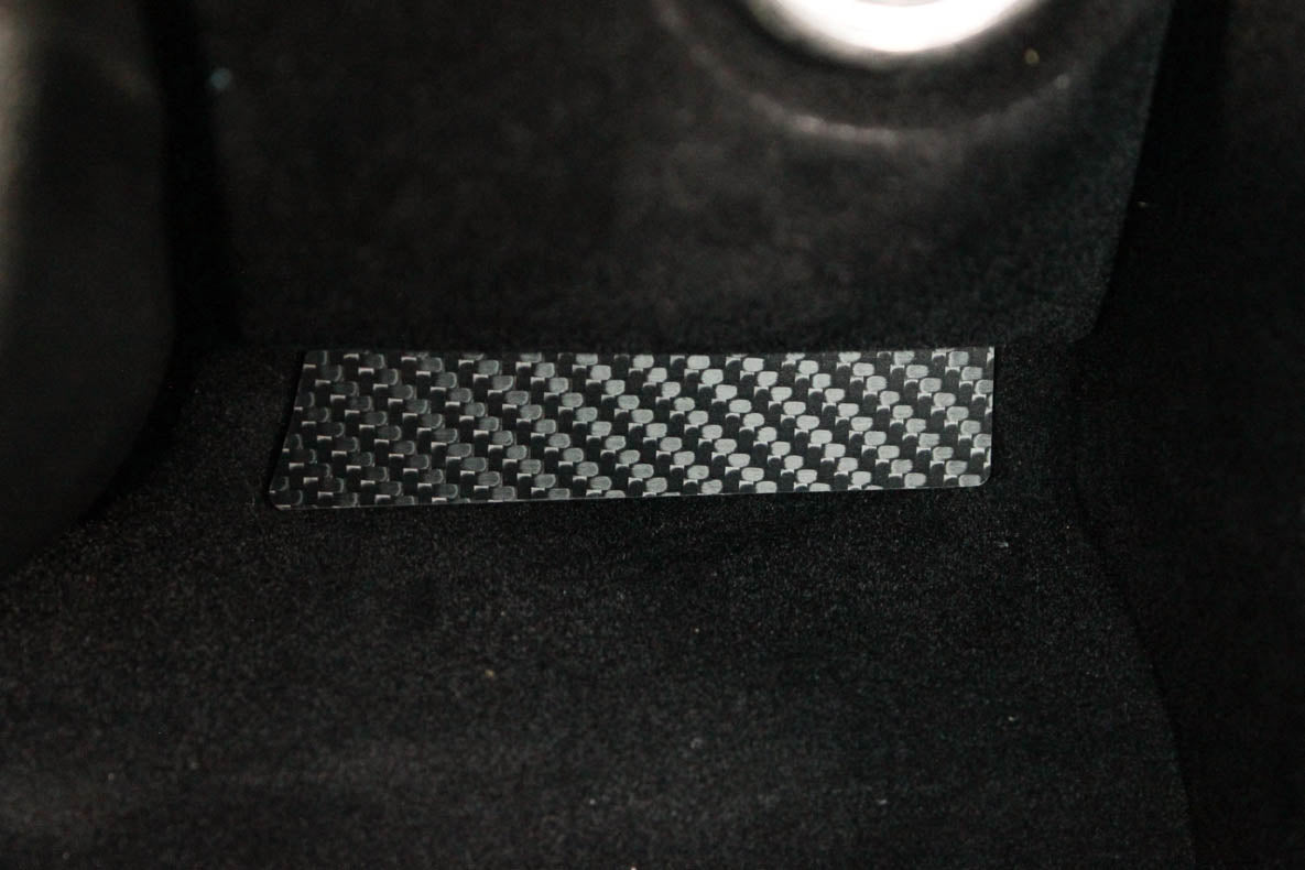 190E (W201) - Extras kit - Carbon fiber trim - 4 PIECES