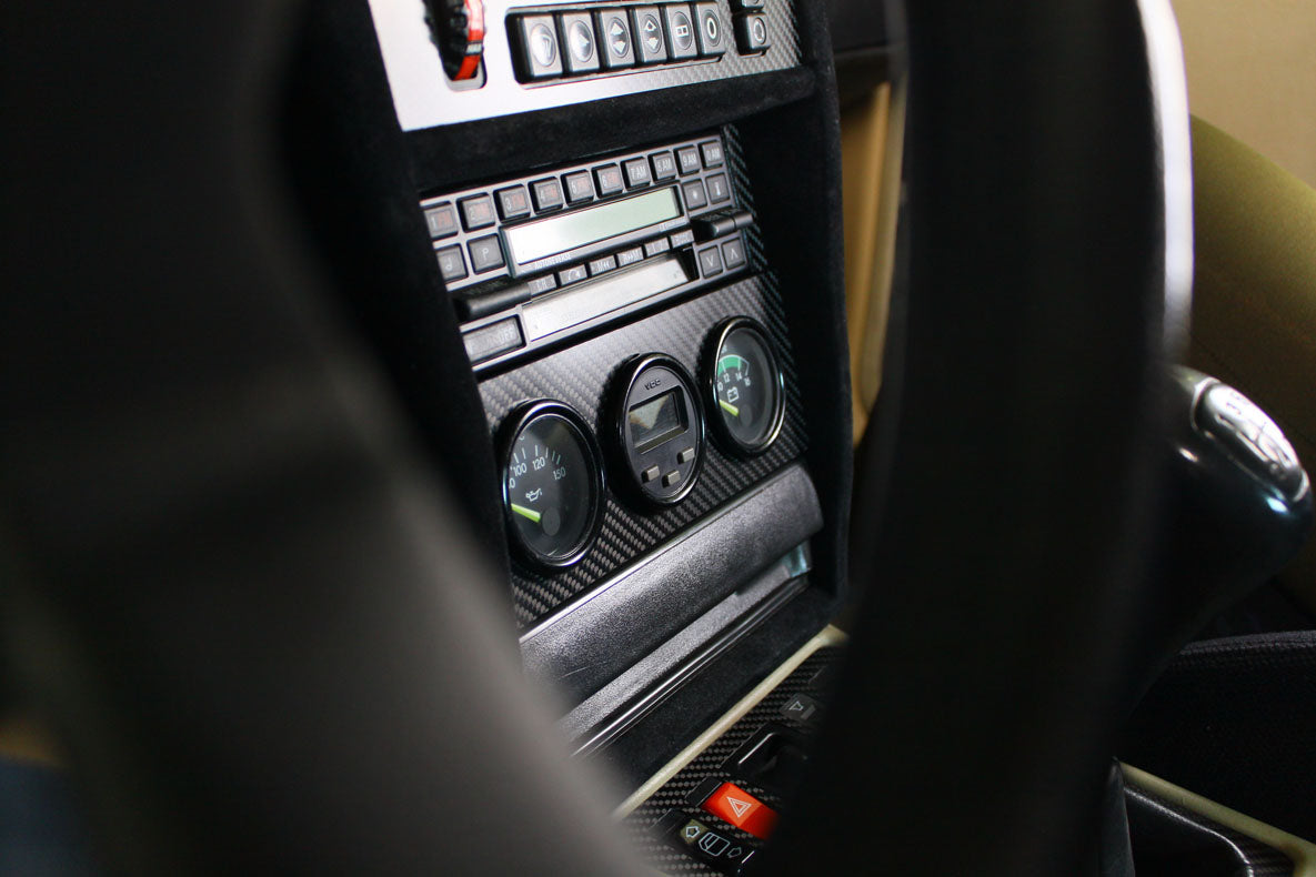 190E (W201) - Control kit - Carbon fiber trim - 4 PIECES