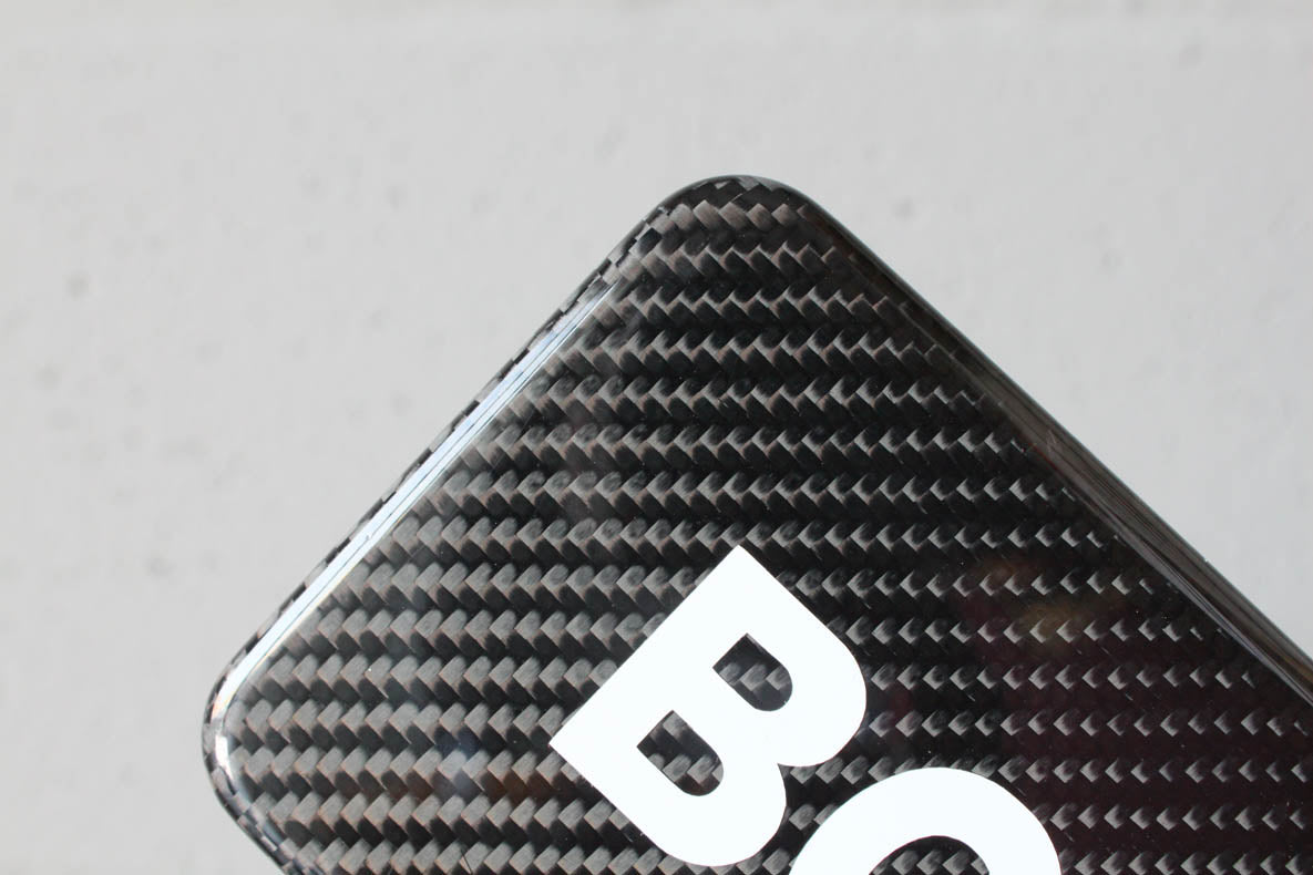 Carbon fiber fog light covers -  For AMG 'Version 2' bumper (W201 & W124)