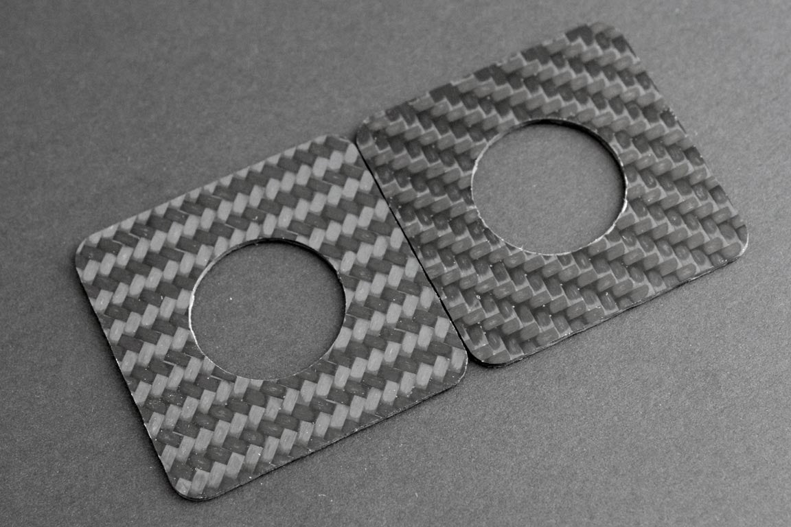 Carbon fiber pattern direction