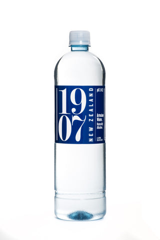 1907 New Zealand Artesian Water 1 litre - 12 bottles
