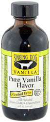 Alcohol Free Pure Vanilla Flavour 118ml