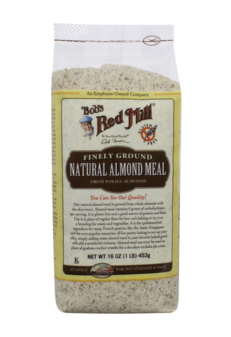 Natural Almond Meal/Flour (not blanched), Gluten Free 453g BEST BEFORE 12 AUG 2017
