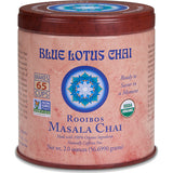 Blue Lotus Chai - Rooibos Masala Chai 85 gram tin - makes 65 cups - 30% OFF