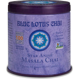 Blue Lotus Chai - Star Anise Masala Chai 85 gram tin - Makes 100 cups -30% OFF