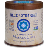 Blue Lotus Chai - Traditional Masala Chai 85 gram tin - Makes 100 cups- 30% OFF