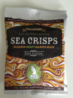 Sea Crisps, 10g 30% OFF BEST BEFORE DEC 2018