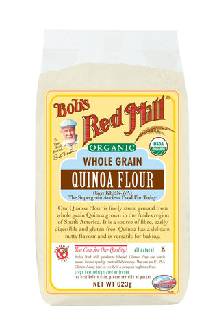 Organic Quinoa Flour, Gluten Free 623g 30% off Best Before 25/10/18