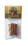 Organic Cassia Cinnamon Sticks 7 cm 33g 70% OFF Best Before Nov 18