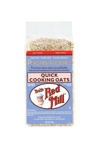 Pure Wheat Free Rolled Oats, Quick Cook 453g