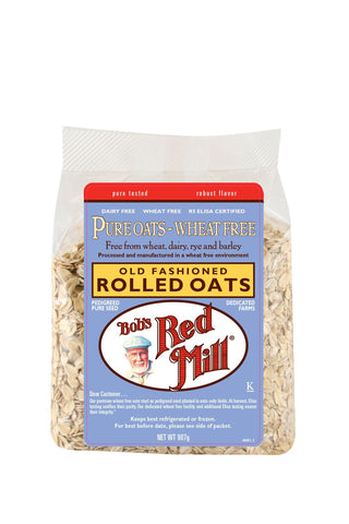 Pure Wheat Free Rolled Oats, Old Fashioned 907g