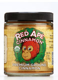 Organic Ground Cinnamon, 102g Screw Top