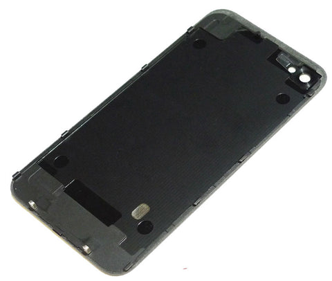 iPhone 4 GSM Back Glass Black - NO APPLE LOGO OR WRITING